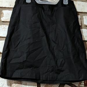 Size 4 black Gap mini skirt